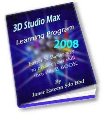 Product picture 3D Studio Max 2008 Training Tutorial eBook