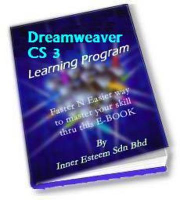 Product picture Dreamweaver CS 3 Training Mastering Tutorial eBook